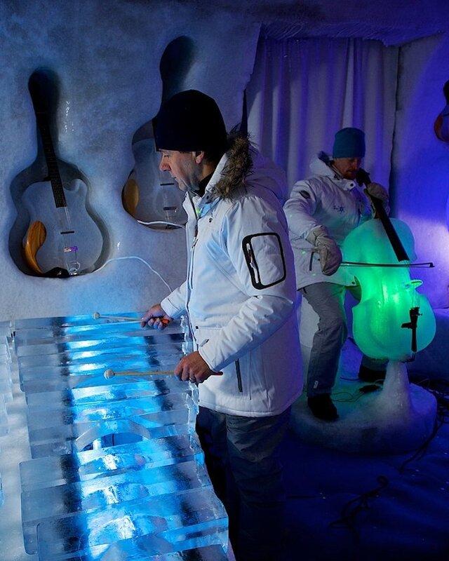 Зимнее развлечение с музыкальным уклоном