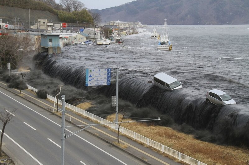 """Токио планирует построить """"Великую японскую стену"""" от цунами"""