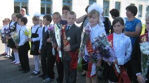 Рябчинская школа. 23 мая 2014г. Последний звонок.