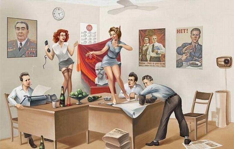 Картинки по запросу советский пин ап
