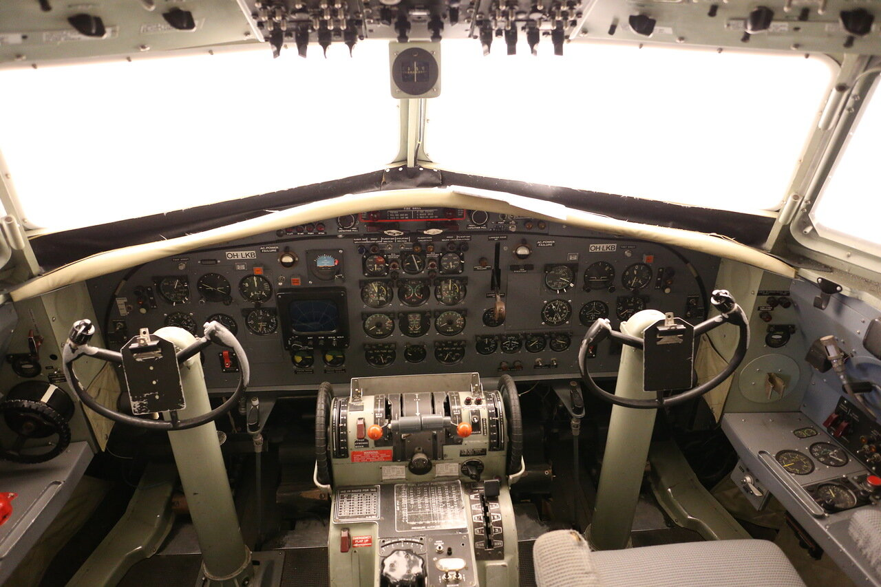 Авиамузей Хельсинки-Вантаа. Тренажер Fokker-27
