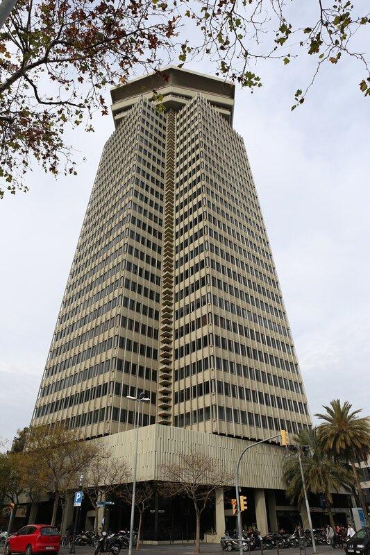 Барселона. Башня Колумба. Torre Colon, Barcelona