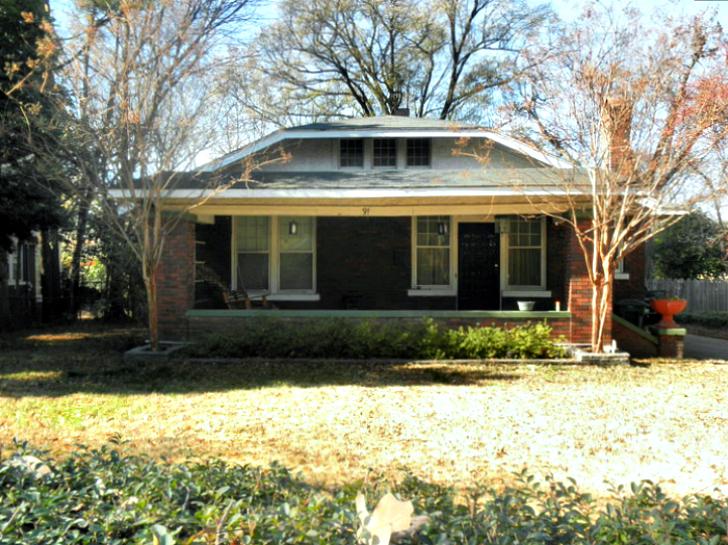 Дом в Мемфисе, где умерла Джорджия Танн Ситуация переломилась к середине 40-х годов. Рост детской см
