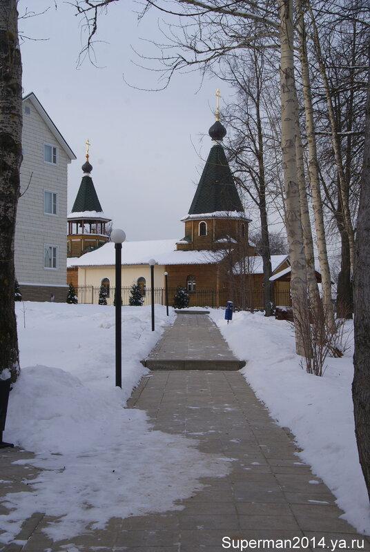 Церковь Сергия Радонежского в Богородском