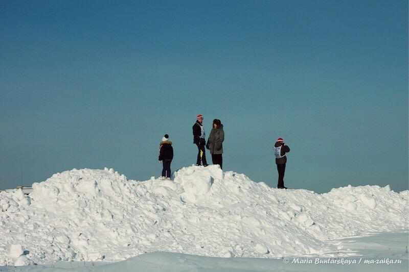 Лыжня России-2014, Базарно-Карабулакский район, 02 февраля 2014 года