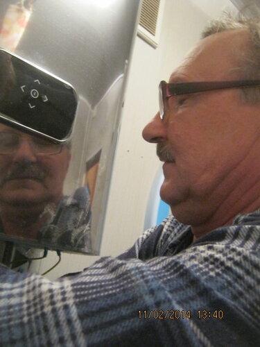Скрытая камера зафиксировала действие наркоза на мозг электрика