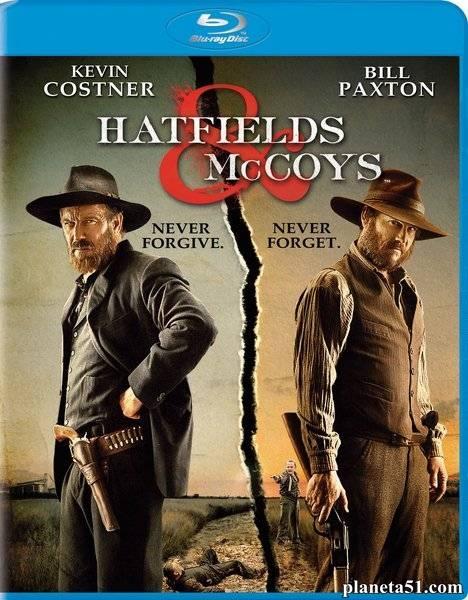 Хэтфилды и МакКои / Hatfields & McCoys - Сезон 1, Серии 1-3 (3) [2012, BDRip 720p] (AlexFilm)