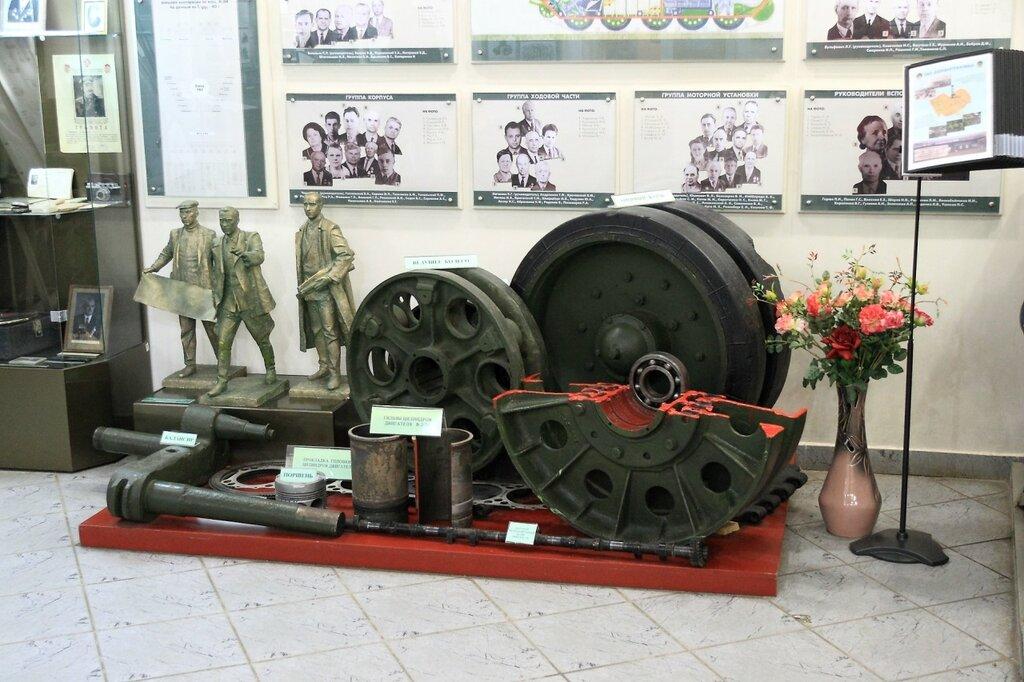 Детали танка Т-34