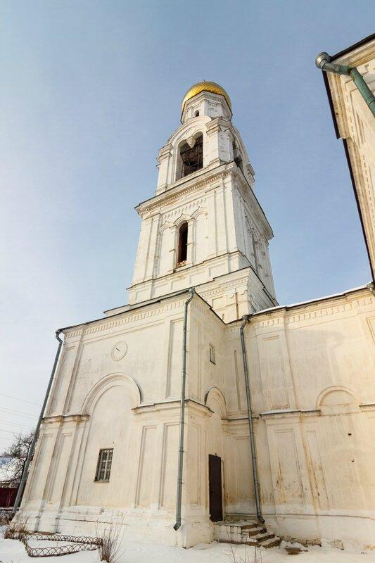 Колокольня Никольской церкви в Рогачево