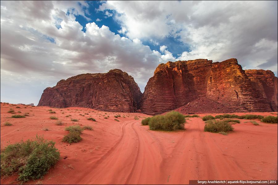 Пустыня Вади Рам / Wudi Rum