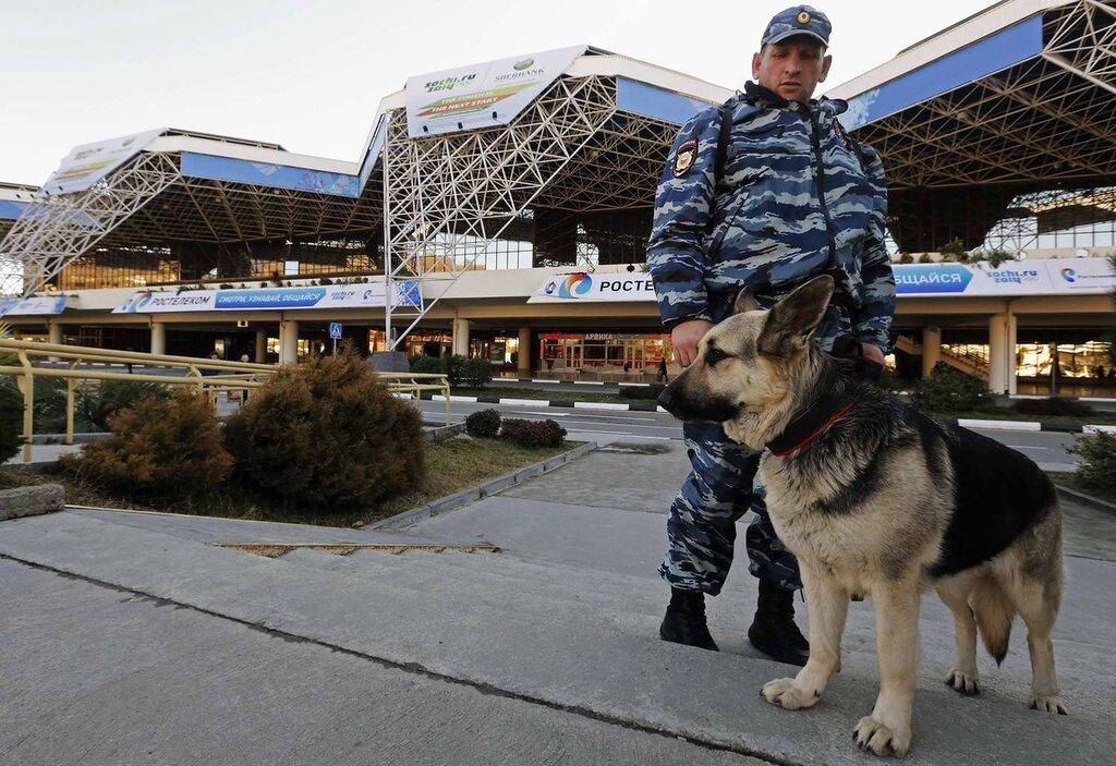 Кинологи со служебными собаками в круглосуточном режиме заняты поиском взрывчатых веществ (3)
