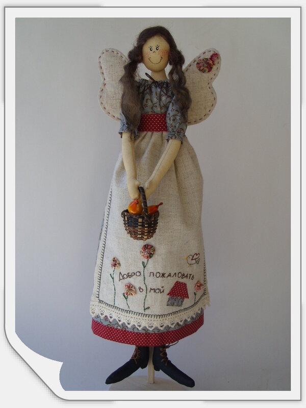 кукла с вышивкой