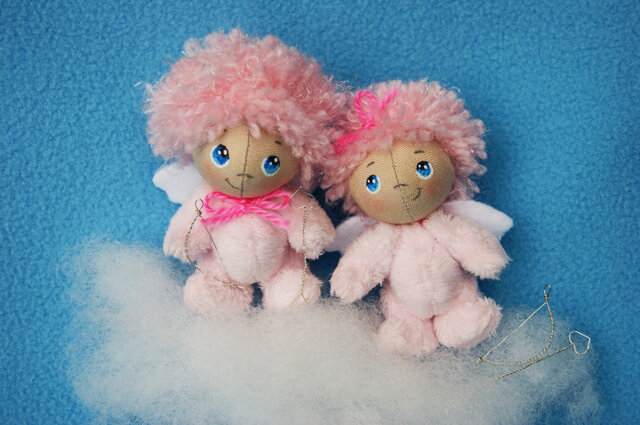 кукла валентинка