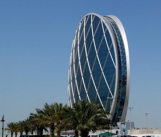 Штаб-квартира компании Aldar. Абу-Даби, ОАЭ