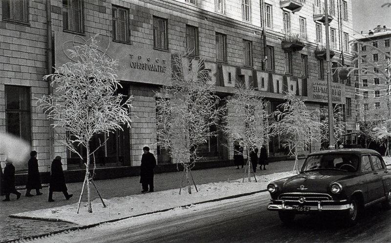 29947 Ленинский проспект. У магазина _Изотопы_А.Сергеев-Васильев 1960.jpg