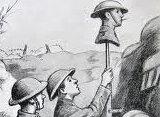 Британские солдаты против немецких снайперов