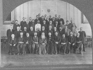 70. Группа профессоров