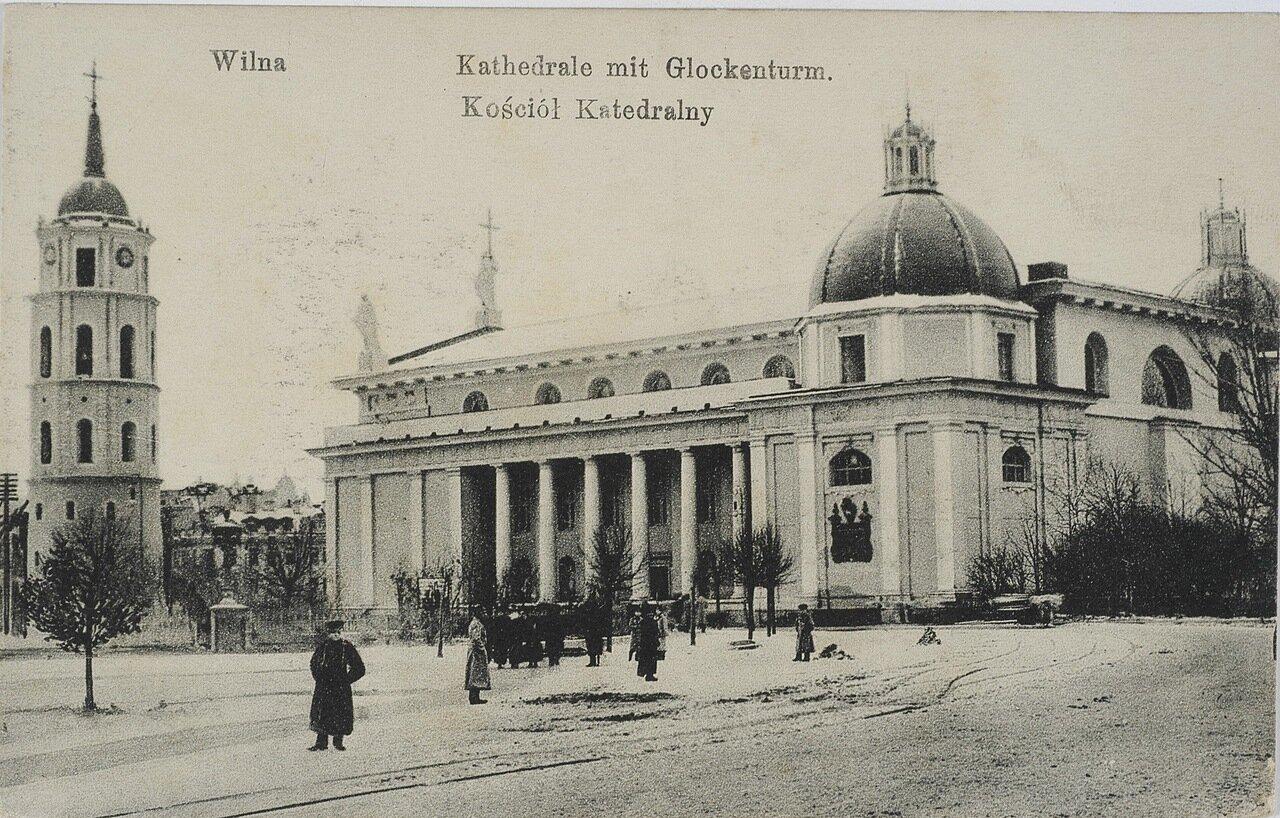 Вильнюсский кафедральный собор с колокольней