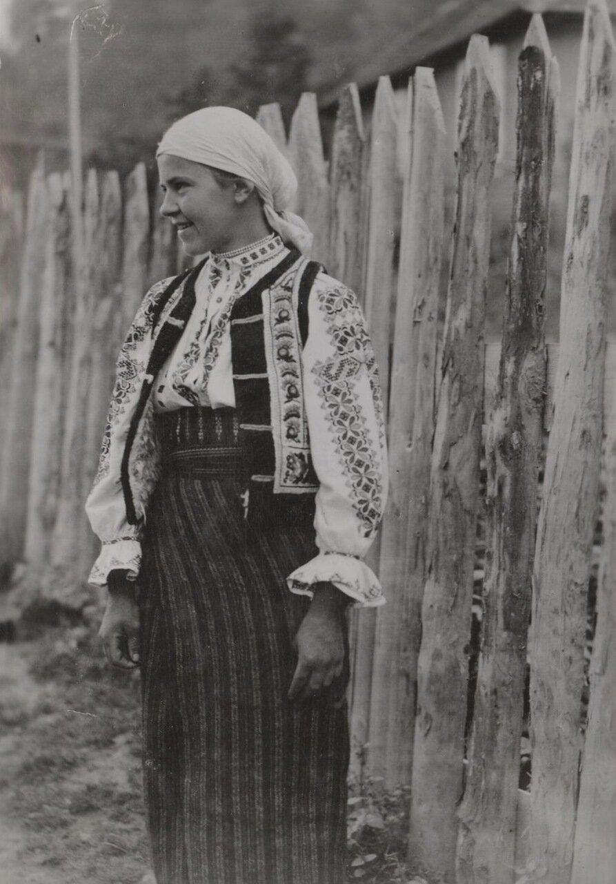 Жительница Буковины