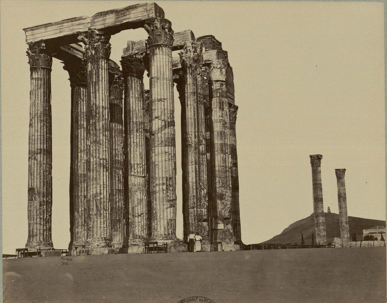 44. Руины храма Зевса Олимпийского