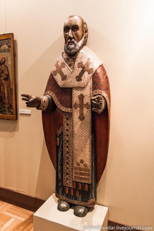 Святитель Николай Чудотворец. XVII-й век.