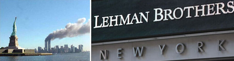 twins + brothers = WTC + Lehman Brothers