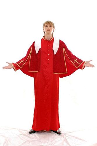 Мужской карнавальный костюм Папа Римский