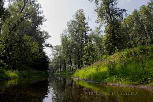 По дороге к озеру