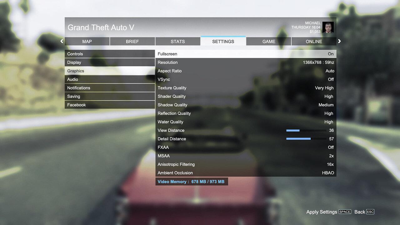 Блоги / Детальная настройка графики GTA 5 на среднем PC 55