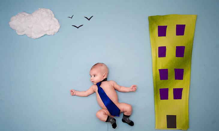 Фото «Ночные приключения младенцев»