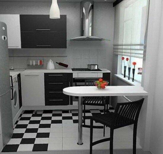 Интерьеры кухонь хрущевка фото