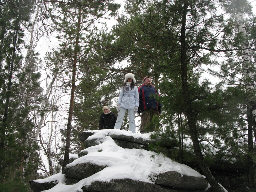 Поход на скалы Вороний Камень.