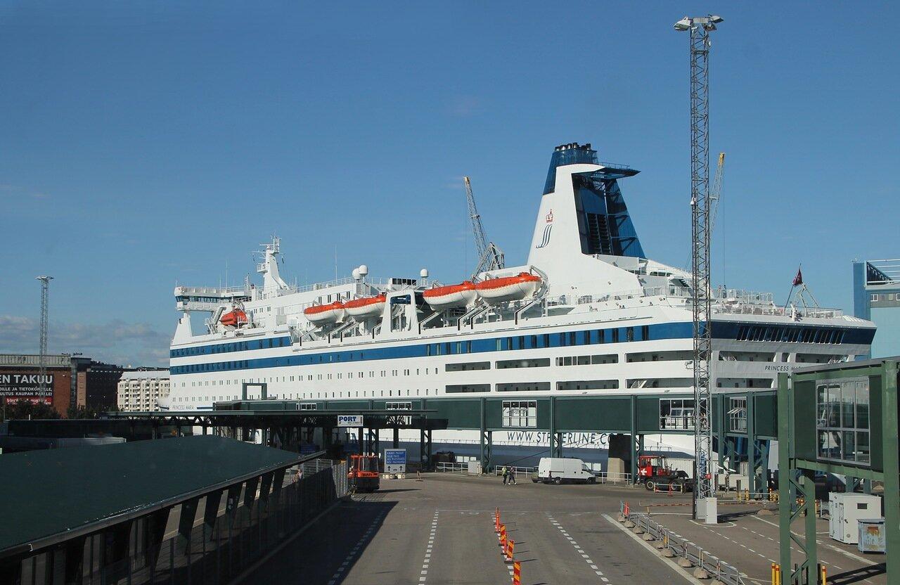 Хельсинки. Паром Принцесса Мария.  Princess Mary ferry. Helsinki.