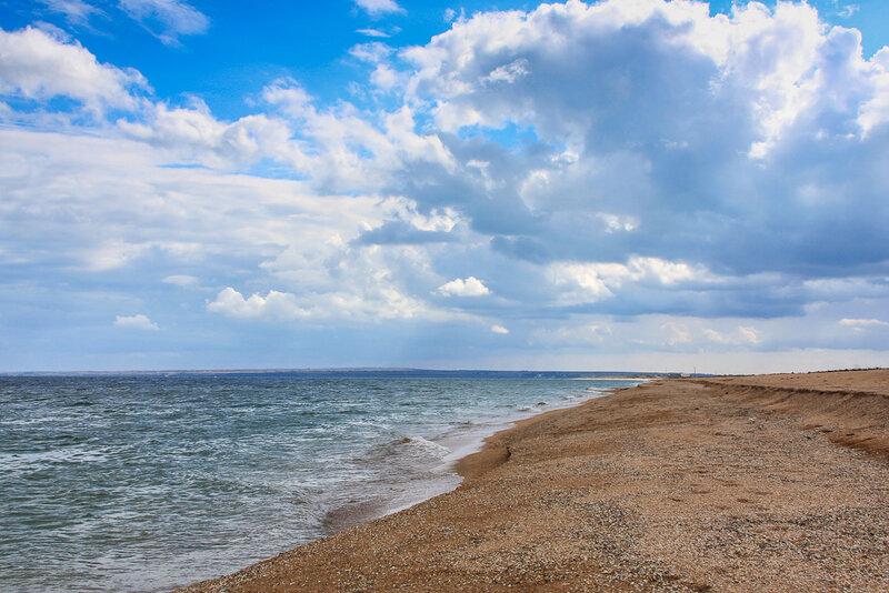На берегу Азова