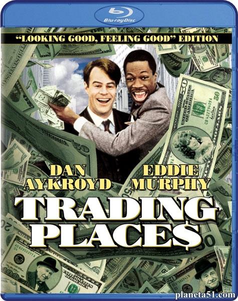 Поменяться местами / Trading Places (1983/BDRip/HDRip)