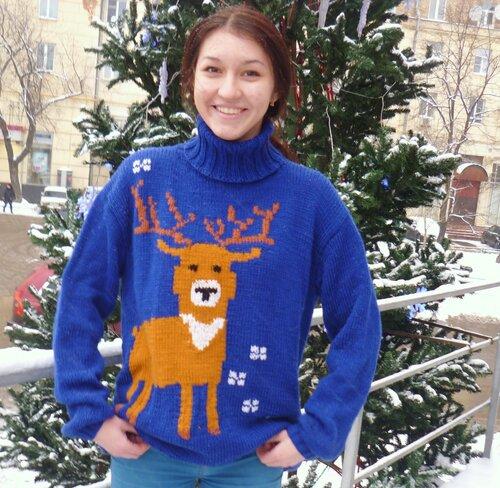 свитер как у Левина