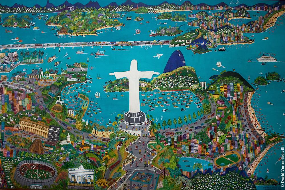 Бразилия, Рио-де-Жанейро, Международный музей примитивного искусства