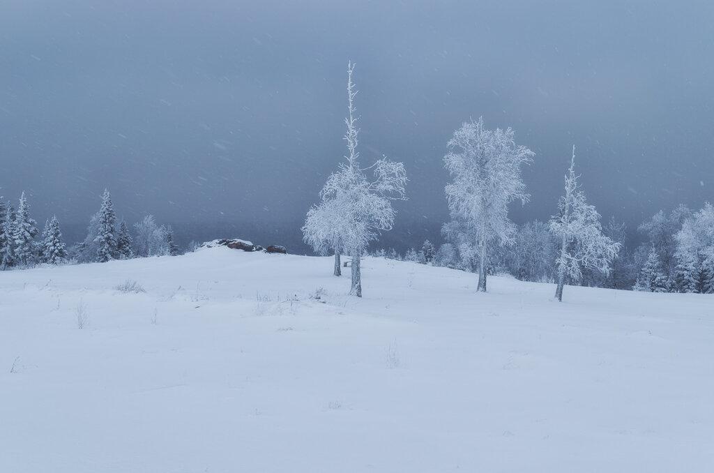 Фото 8. Минимализм. Так выглядит смотровая площадка Белые камни между Гремячинском и поселком Усьва в Пермском крае.