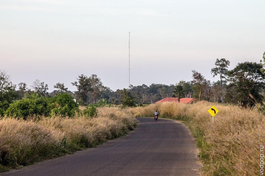 дороги в Камбодже