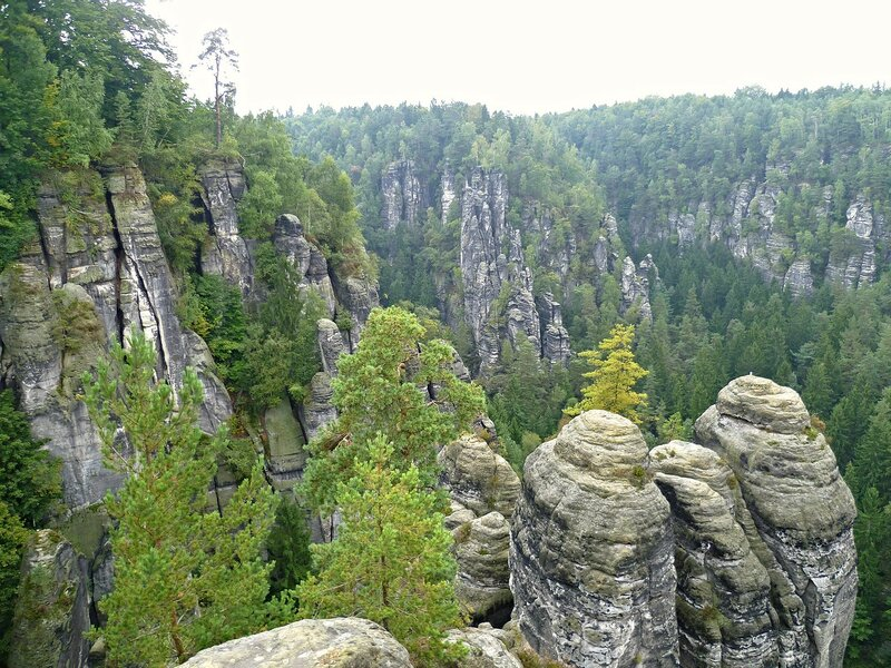 Германия, Бастай (Germany Bastei)