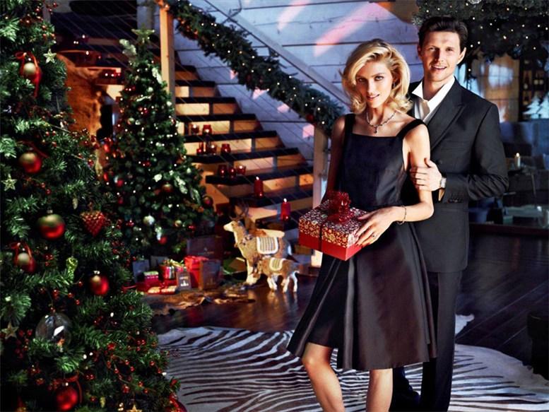 Аня Рубик / Anja Rubik & Sasha Knezevic - Apart Christmas 2013