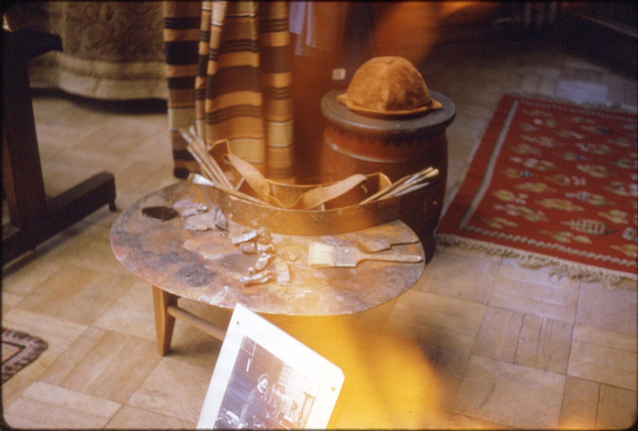 Интерьер музея Репина