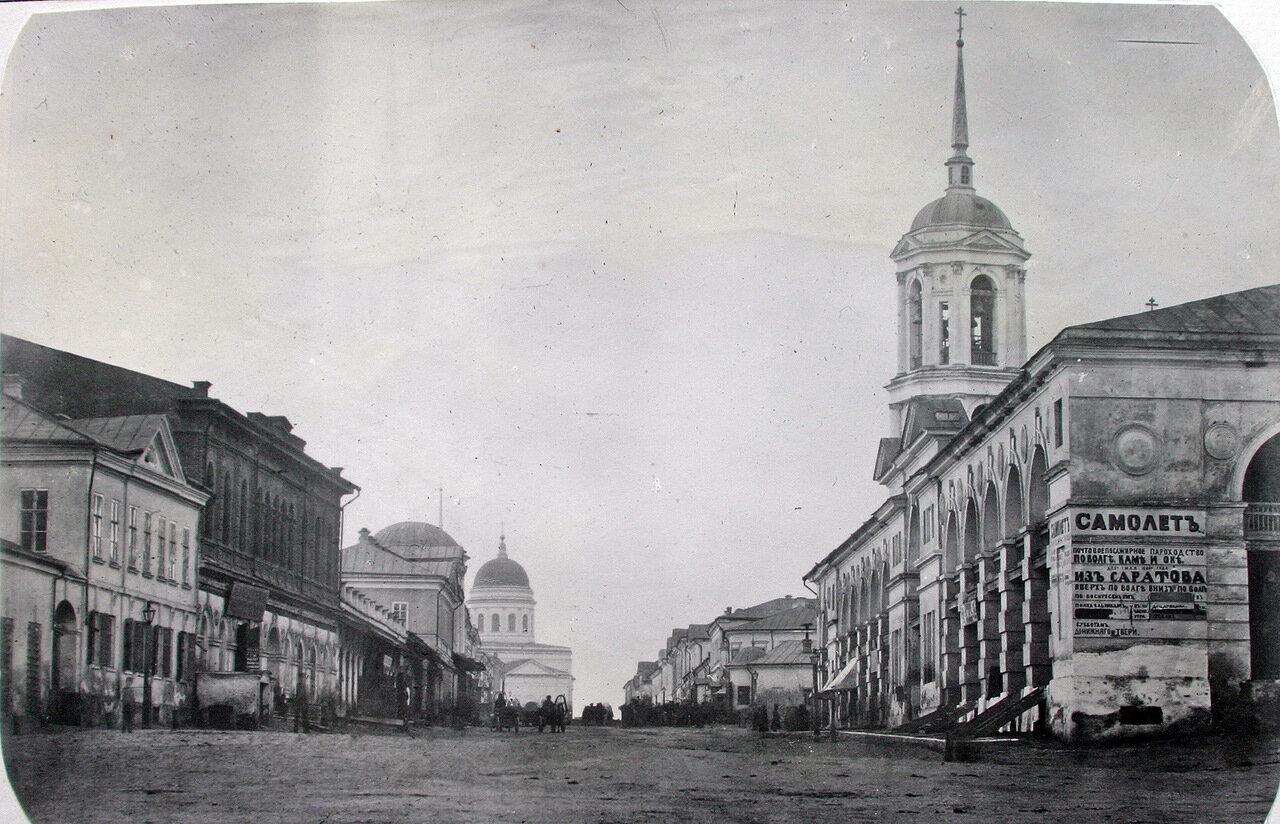 Улица Московская. Старый гостиный двор