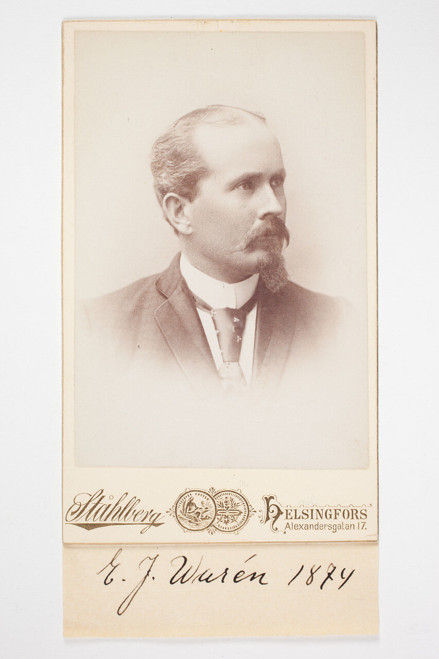 Э.Дж.Варен. 1874