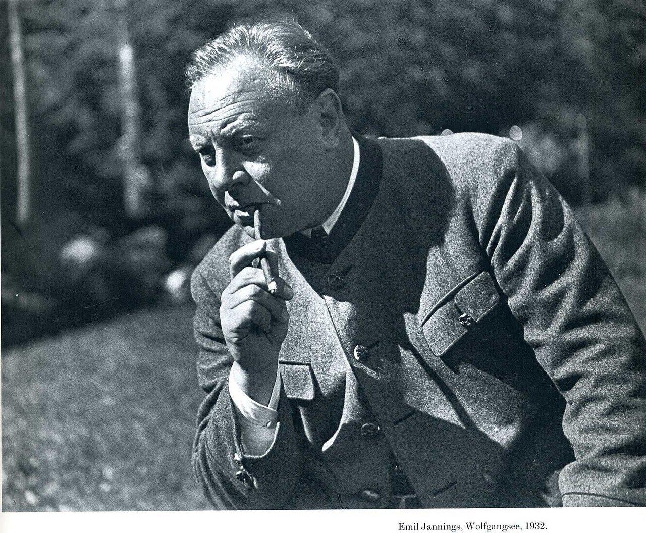 1932. Эмиль Яннингс. Вольфгангзе, Австрия