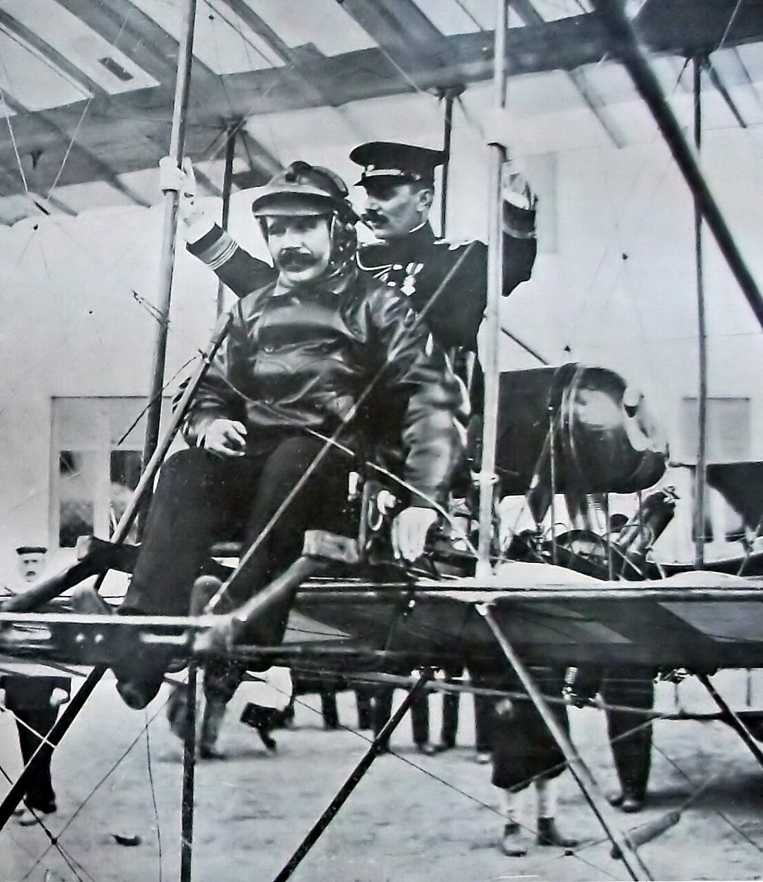 1911. Авиатор Костин Николай Дмитриевич