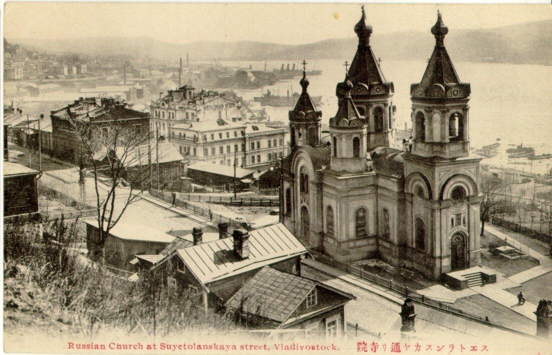 Светланская улица. Кафедральный собор