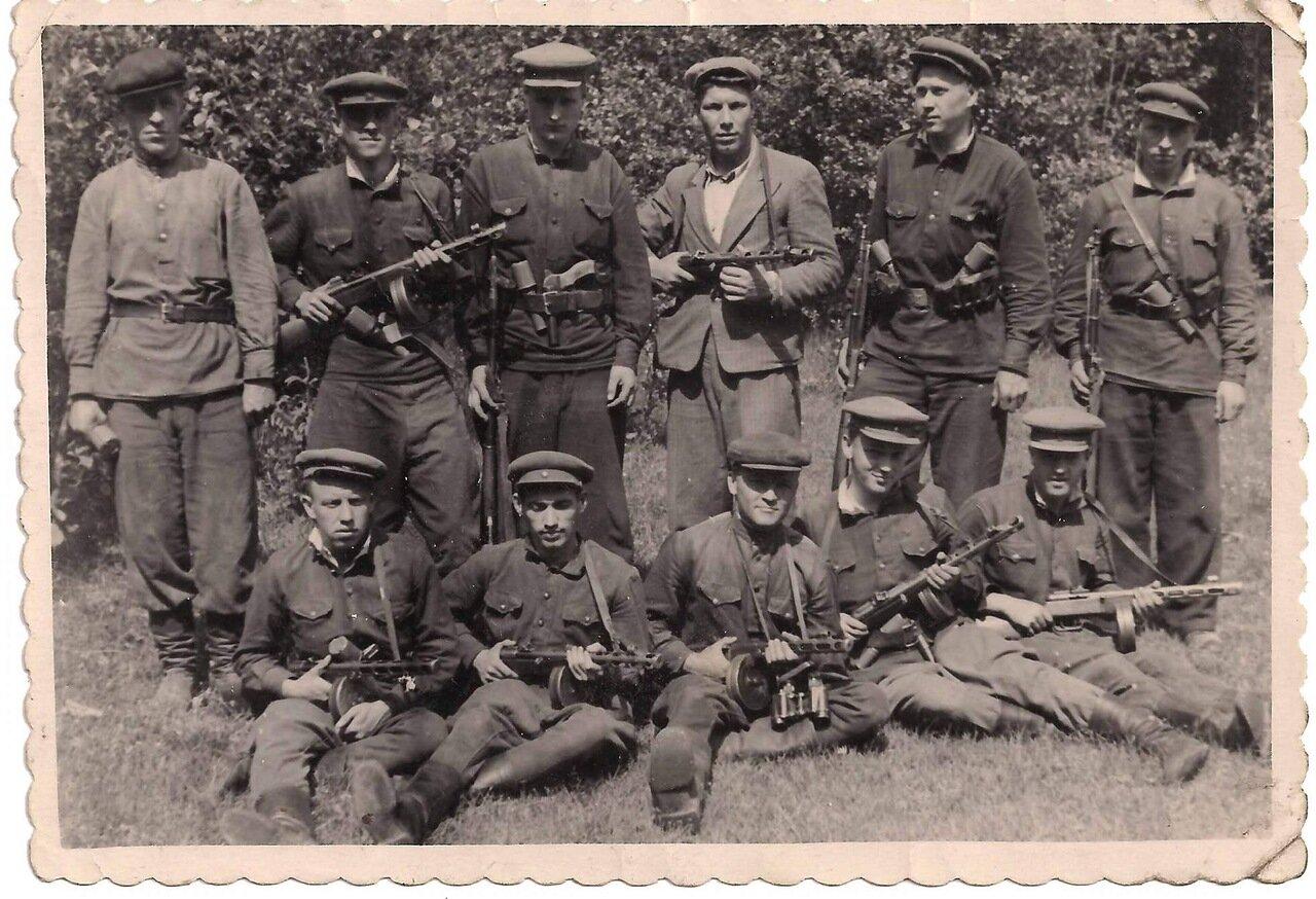 Спецотряд МГБ по ликвидации бандформирований «Лесных братьев» 1949