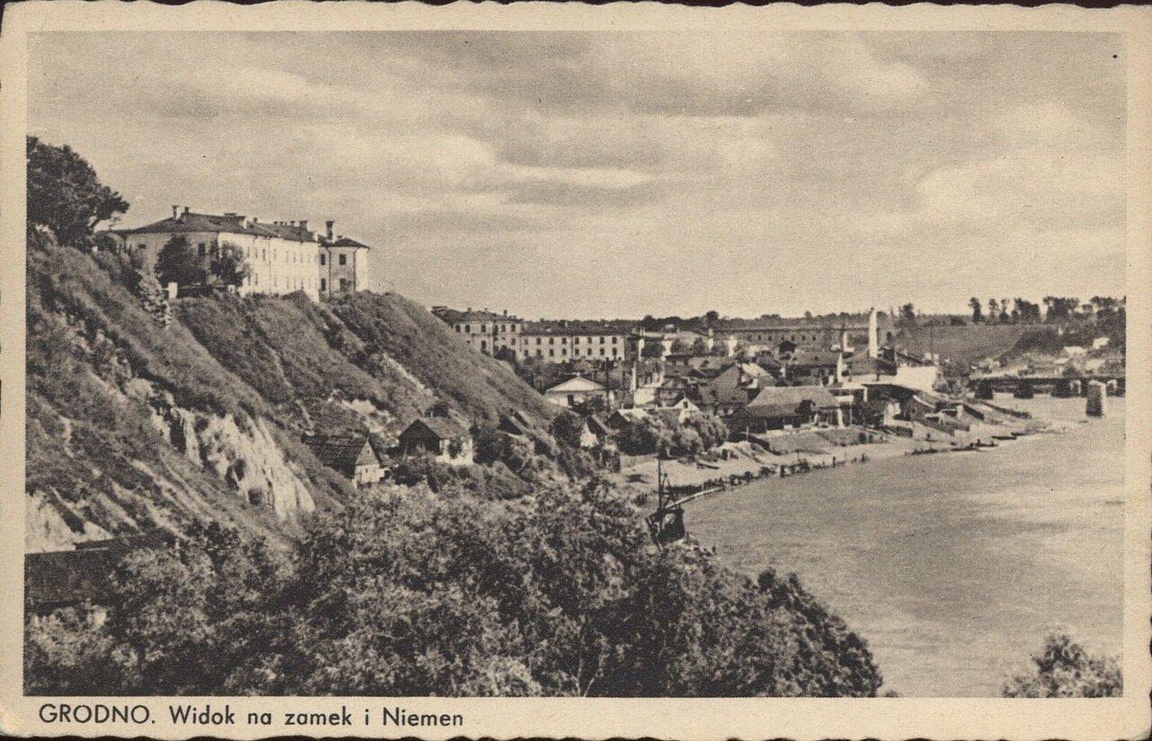 Вид на замок и Неман