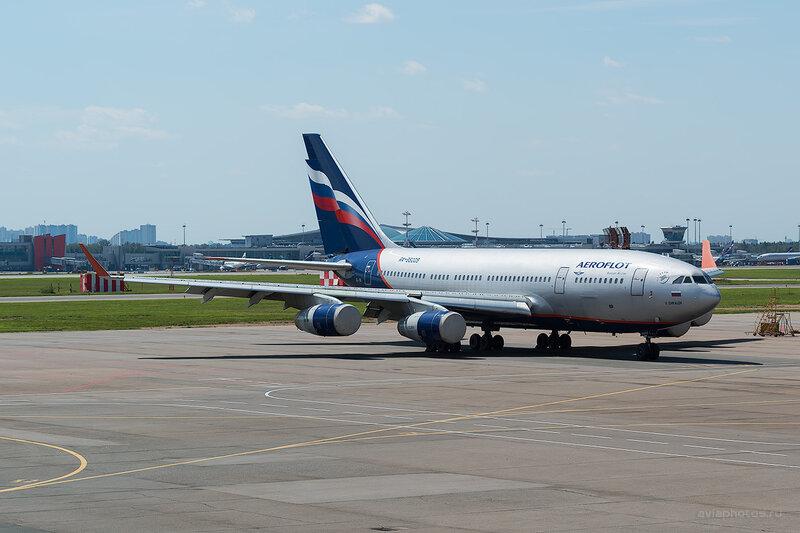 Ильюшин Ил-96-300 (RA-96005) Аэрофлот D805846